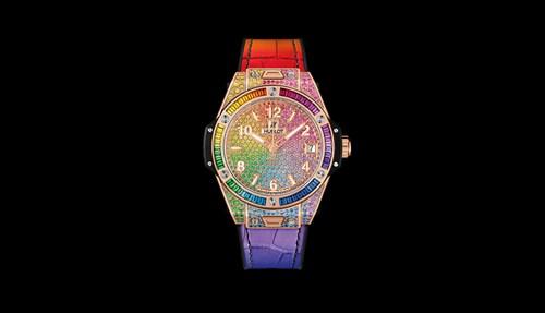 ساعات قوس قزح من Hublot جرعة من الألوان المبهجة