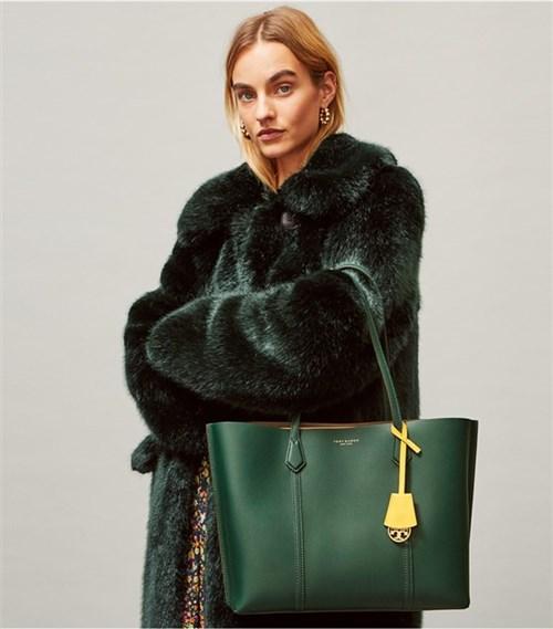 حقيبة جلدية من توري بيرتش