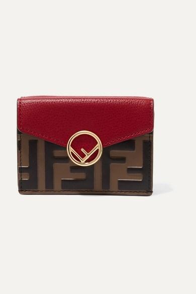 محفظة جلدية من فندي
