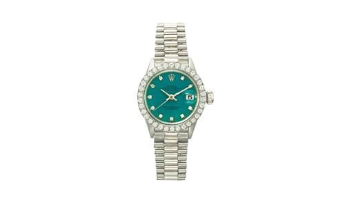 ساعة رولكس Datejust الأثمن والأكثر مبيعاً  في المزادات.