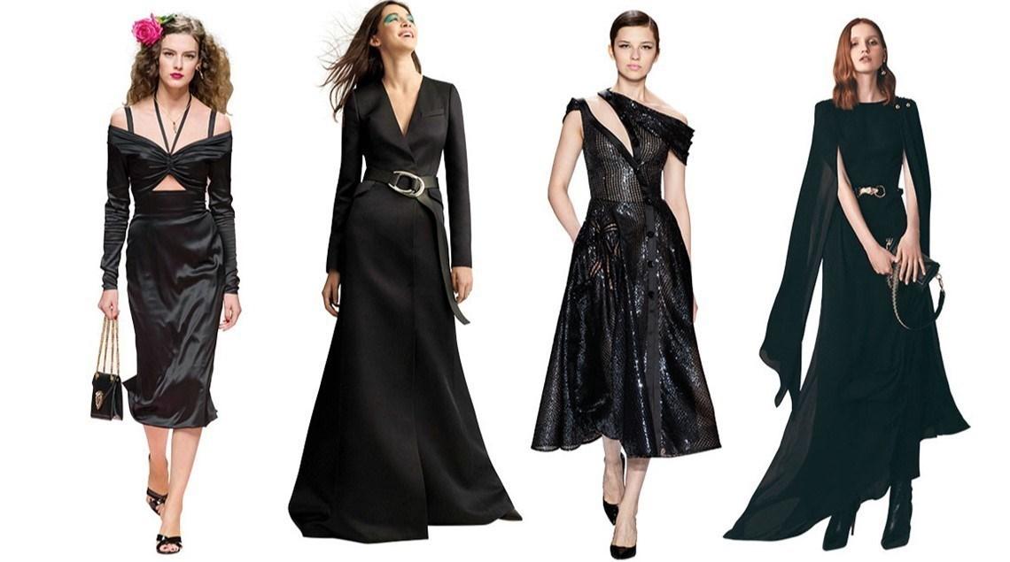 سر صمود الفستان الأسود
