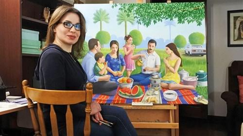 نادية أوسي: الفن يُقرِّب المسافة بين الثقافات