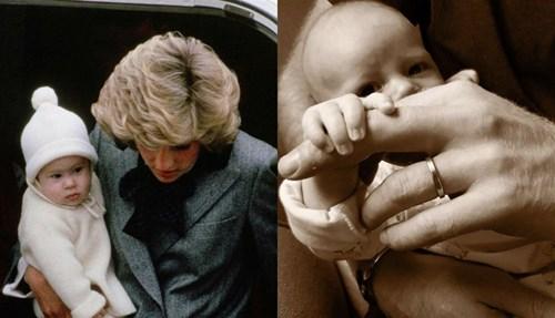 شاهد.. الشبه لا يصدق بين الأمير هاري وابنه آرتشي!