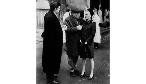 Catherine Deneuve with buckle pumps on Belle de Jour setin 1967