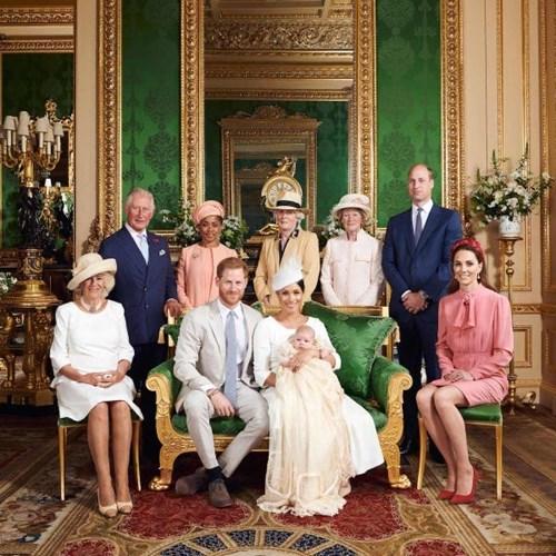 أبرز صور الأمير آرتشي في عيد ميلاده الأول