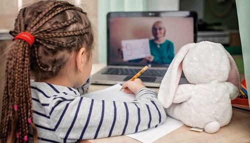 تكيف الطلاب والمعلمون مع نظام التعليم المنزلي في وقت قياسي.