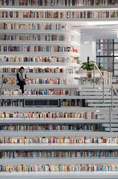 مكتبة المليون ونصف كتاب: صور مبهرة