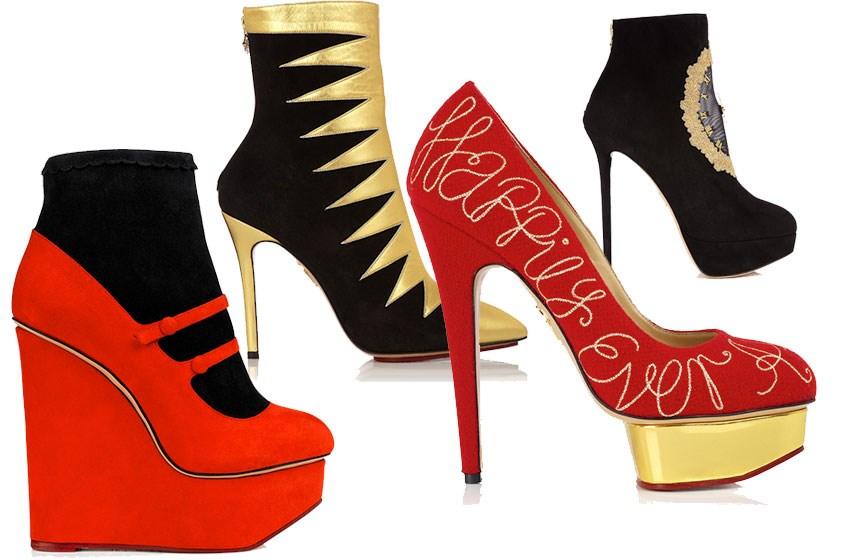 أحذية أنيقة ومرحة من Charlotte Olympia