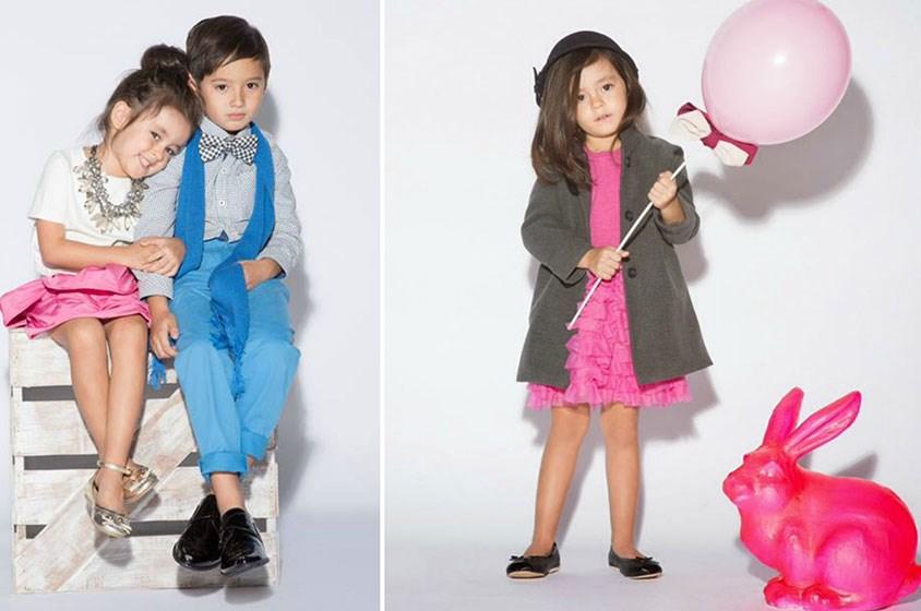 12 طفلاً لعرض أزياء جنجر سنابس في ريل سينما