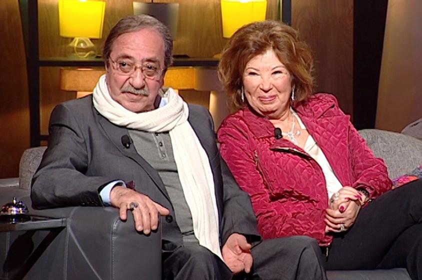دريد لحام وزوجته: عصفورا حبّ في الفالنتاين!