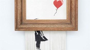 ستعرض لوحة الفنان بانكسي الشهيرة لأول مرة في ألمانيا