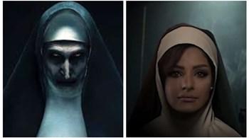 """شاهد.. مسرحية """"خطوات الشيطان"""" نسخة كويتية من فيلم الرعب The Nun"""