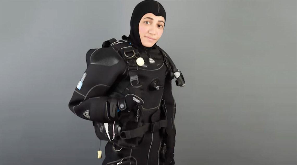 مريم فردوس.. أول غواصة عربية تكسر جليد القطب الشمالي
