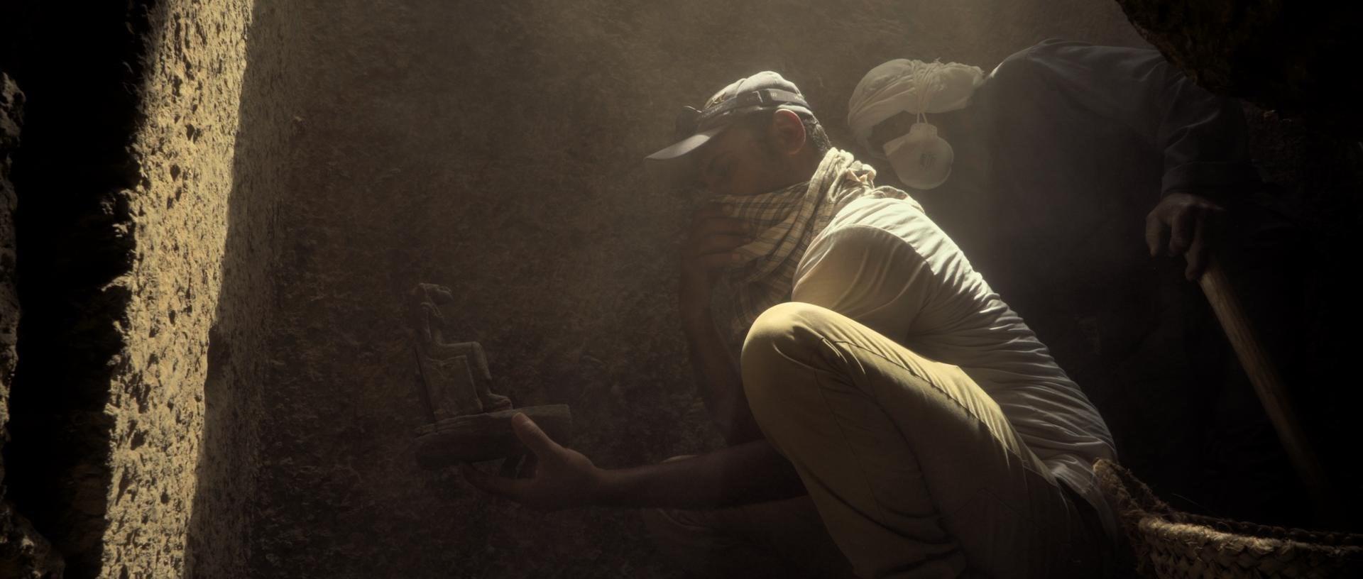 «أسرار سقارة».. وثائقي يروي مقبرة فريدة من نوعها