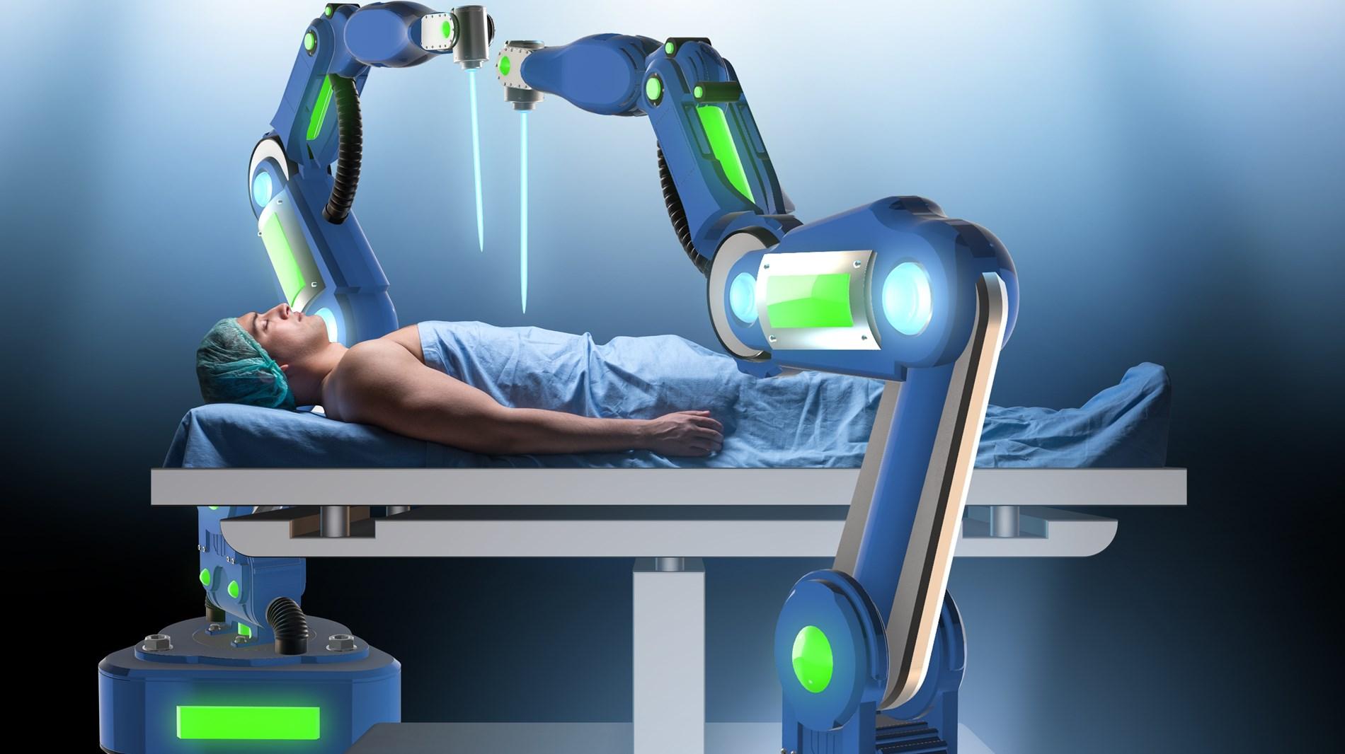 «دافنشي».. روبوت ذكي لإجراء الجراحات الطبية