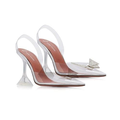 حذاء من  Amina Muaddi x Awge