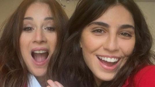 كارين رزق الله وابنتها نادية