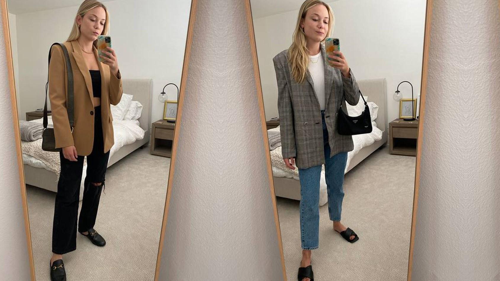 5 طرق لارتداء البليزر بطريقة عصرية.. شاهدي