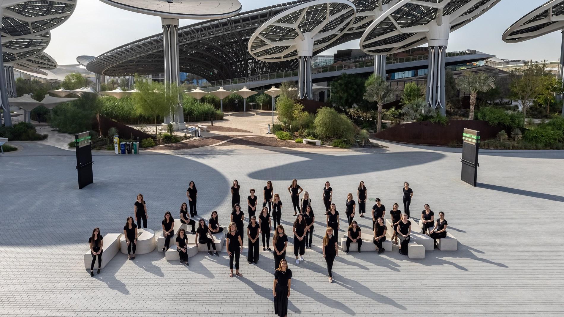 """فيديو يقدم لمحة عن أوركسترا الفردوس قبل انطلاق """"إكسبو 2020 دبي"""""""