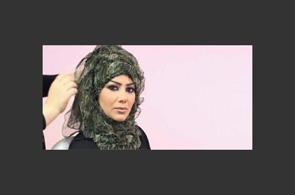 حجاب كلاسيكي أخضر
