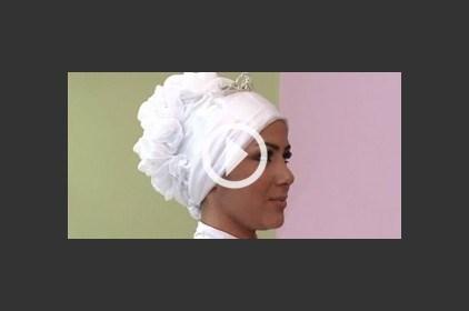 حجاب خليجي أنيق للأفراح