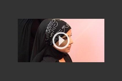 حجاب ليوم مميز