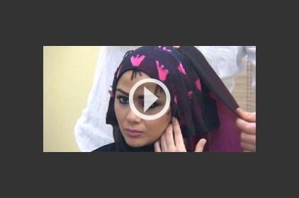 الحجاب المرفوع