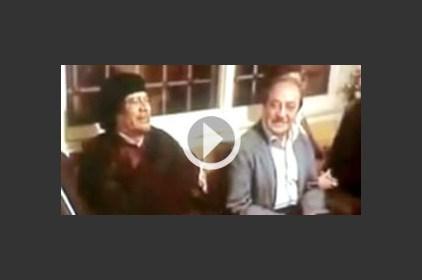 دريد لحام: سهرة مع القذافي