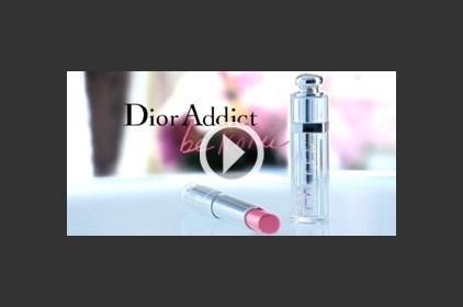 أحمر الشفاه الجديد Dior Addict مع النجمة كيت موس