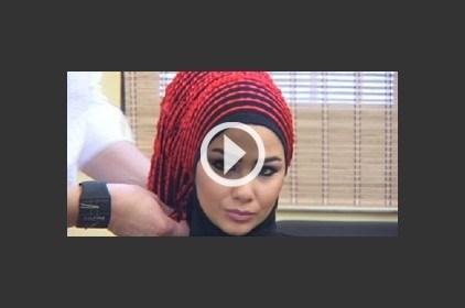 إطلالة جديدة بالحجاب