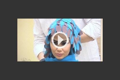 حجاب مزين