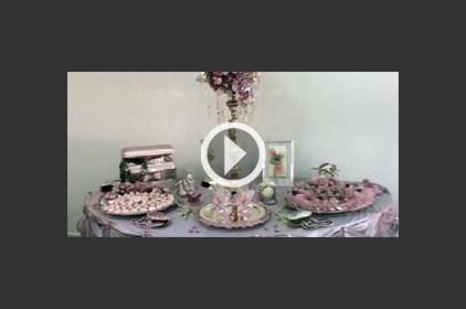كيفية تزيين طاولات الزفاف