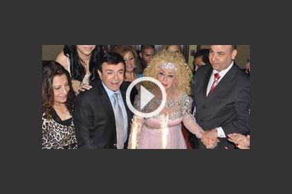 الشحرورة صباح تحتفل بعيد ميلادها في مصر