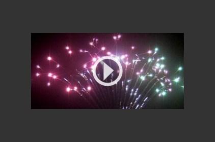 الألعاب النارية في الأعراس