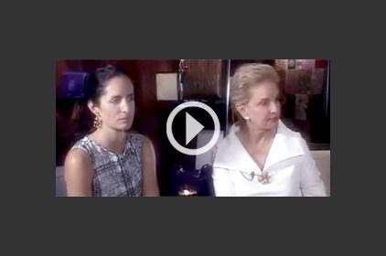 أنا زهرة في مقابلة حصرية مع المصممة العالمية Carolina Herrera