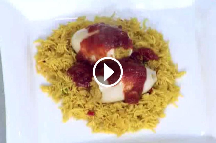 شاهدي طريقة تحضير كالاماري مع الأرز