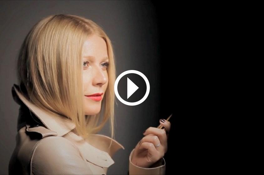بالفيديو: غوينيث بالترو تكشف أسرار مكياجها