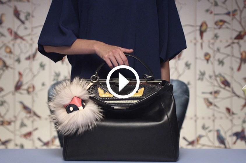 شاهدي الفيديو الحصري لإطلاق THE BAG BUGSمن حقائب FENDI