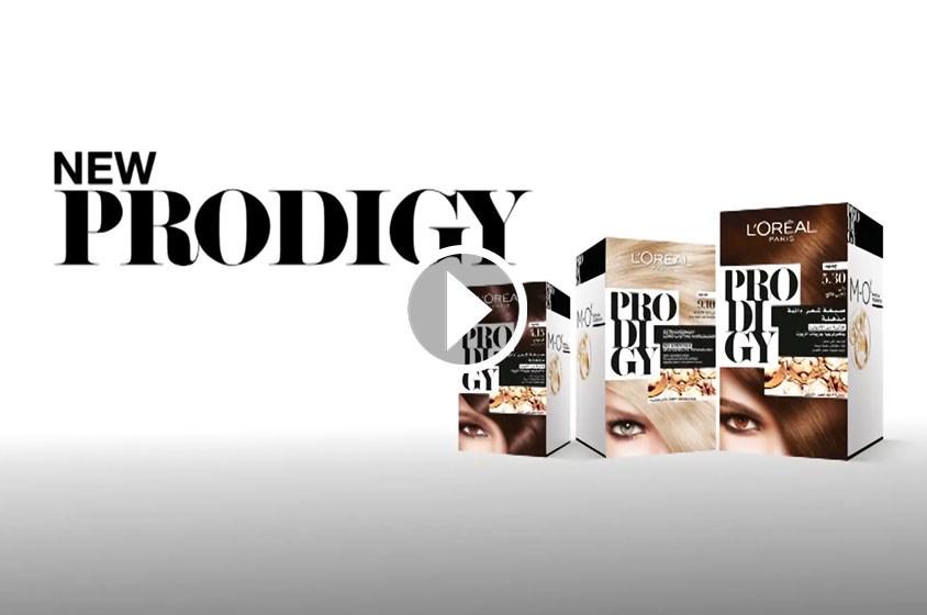 اصبغي شعركِ من دون ضرر مع Prodigy من لوريال