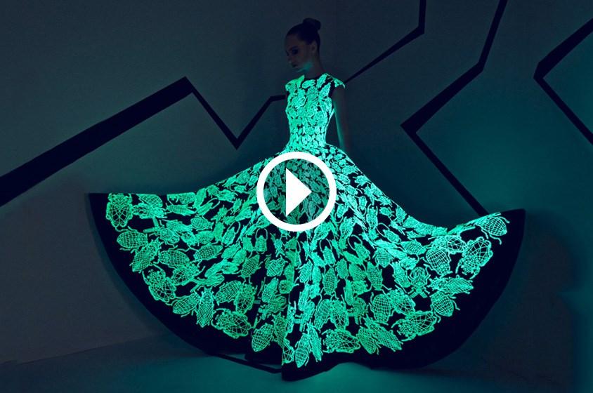 ابتكارية استثنائية لدى رامي قاضي في أسبوع الموضة