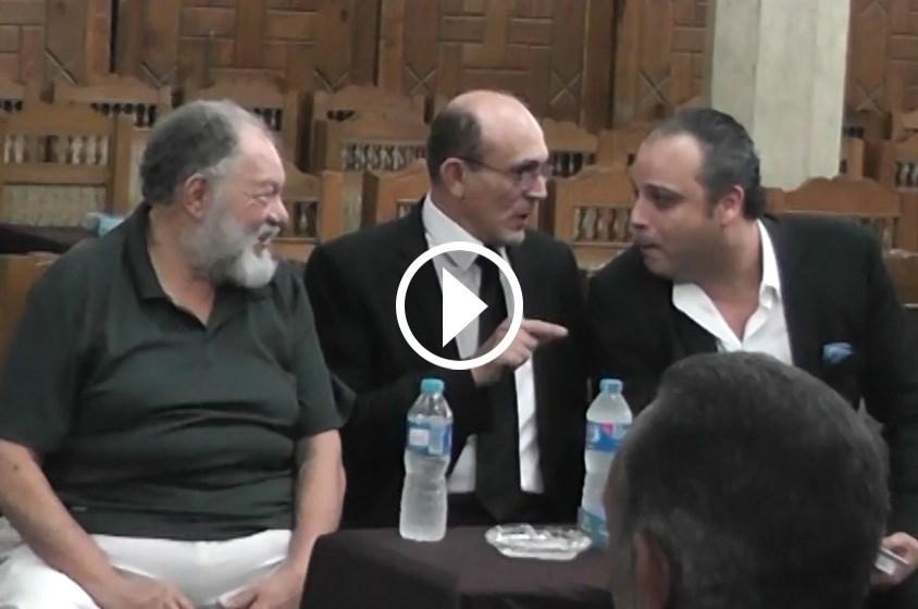 بالفيديو: 4 مواقف في عزاء عمر الشريف
