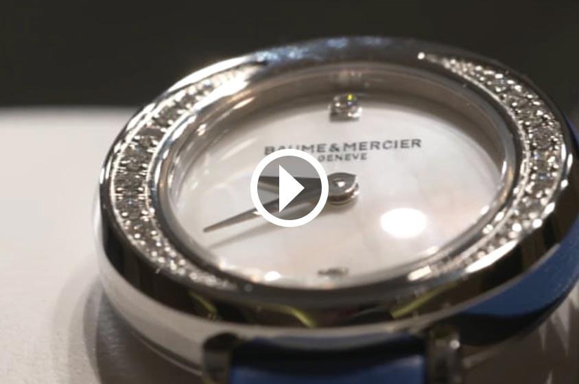 """هل ستحب المرأة ساعة """"الوعد الصغير"""" من Baume & Mercier؟"""