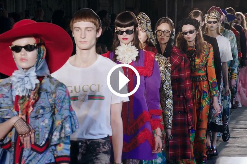 تصاميم Gucci 2017 تنطلق من لندن