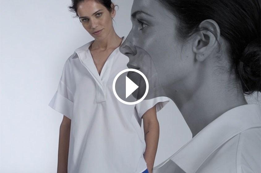 قميص كارولينا هيريرا الأبيض
